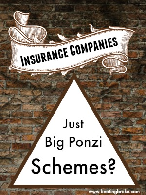 Insurance companies Ponzi