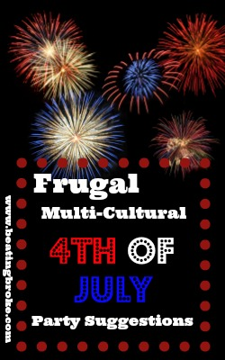 Frugal 4th of July