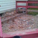 DIY Disaster; Or, Our New Deck
