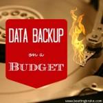 Data Backup on a Budget