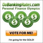 Vote for Beating Broke in the Personal Finance Olympics