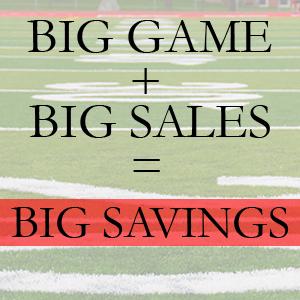 Super Bowl Savings