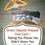 Propaganda Alert: Visa Direct Deposit Prepaid