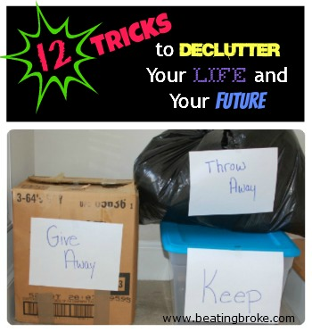 12 Tricks to Declutter
