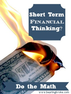 Short Term Financial Thinking