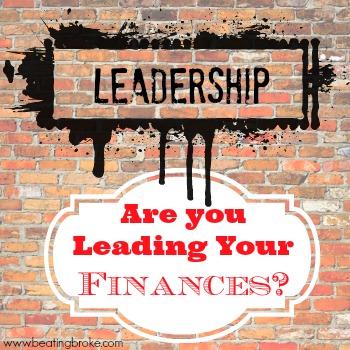 Leading Your Finances