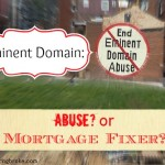 Eminent Domain as a Mortgage Fixer?