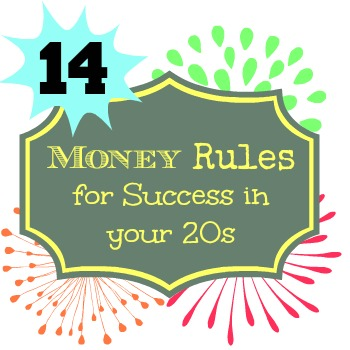 14 Money Rules for Success in your 20s