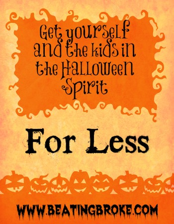 Halloween Spirit for Less