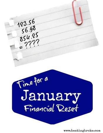 January Financial Reset