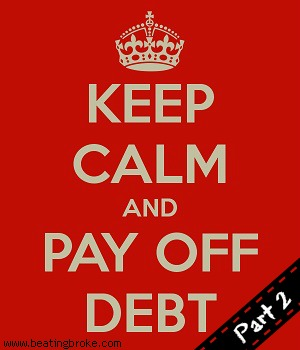 Keep Calm Payoff Debt 2