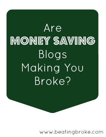 Money Saving Blogs Making Broke