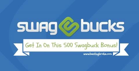 Swagbucks 500 Bonus