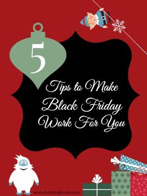 Make Black Friday shopping Work For You