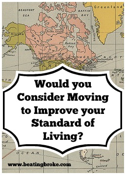 Moving improve Standard of Living