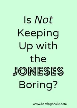Boring Joneses