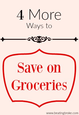 save more on groceries