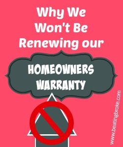 Homeowners Warranty