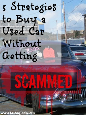 Used Car Scammed
