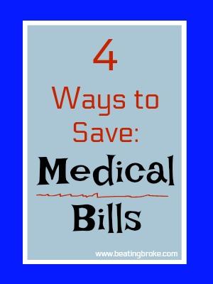4 ways to save on medical bills
