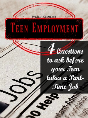 Teen Jobs Employment