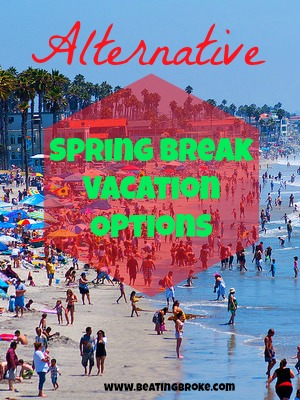 Alternative spring break vacation