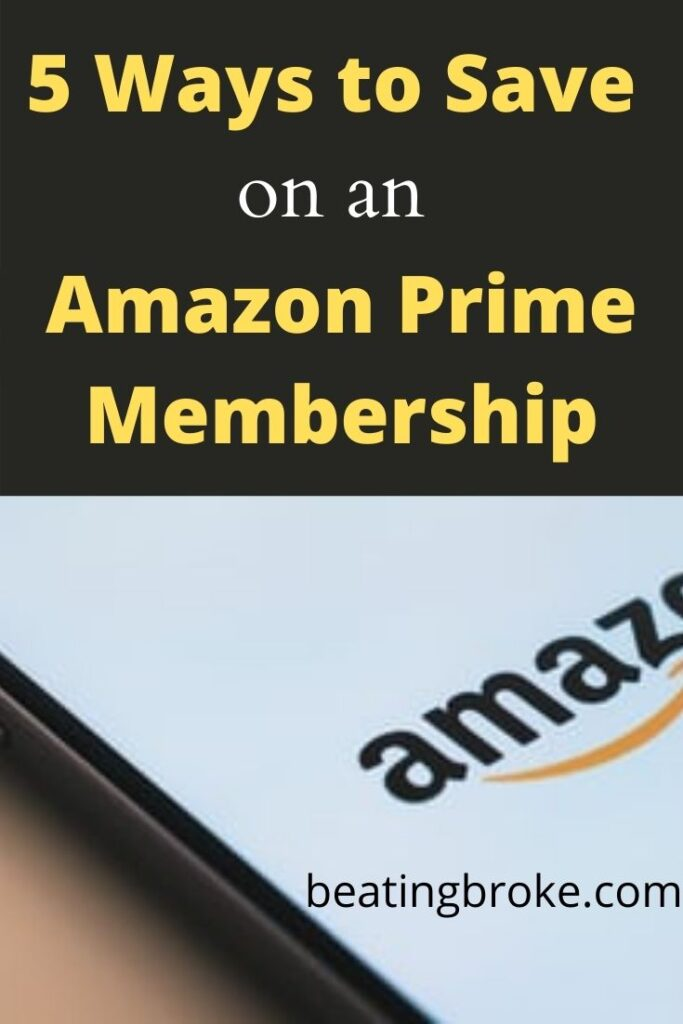 save on an Amazon Prime membership