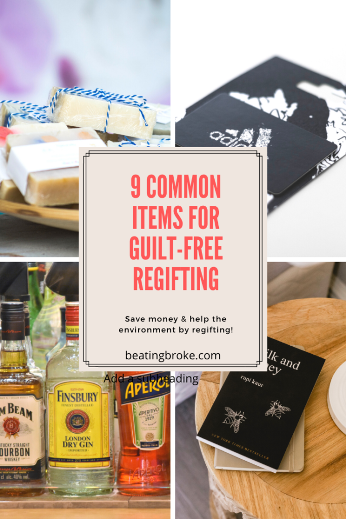 9 Common Items for Guilt-Free Regifting