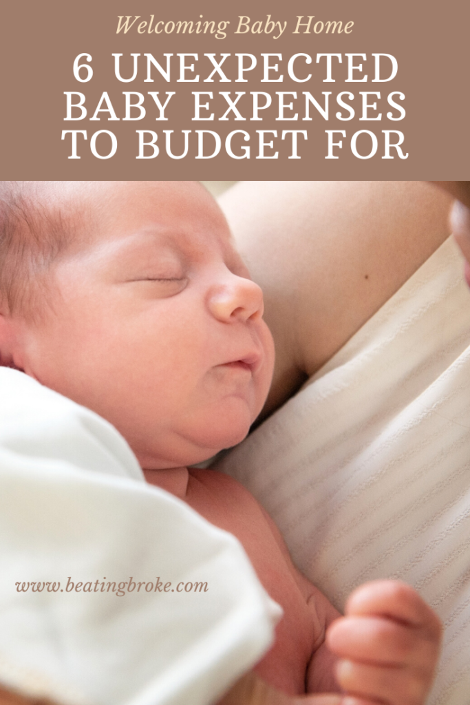 6 Unexpected Baby Expenses to Budget For