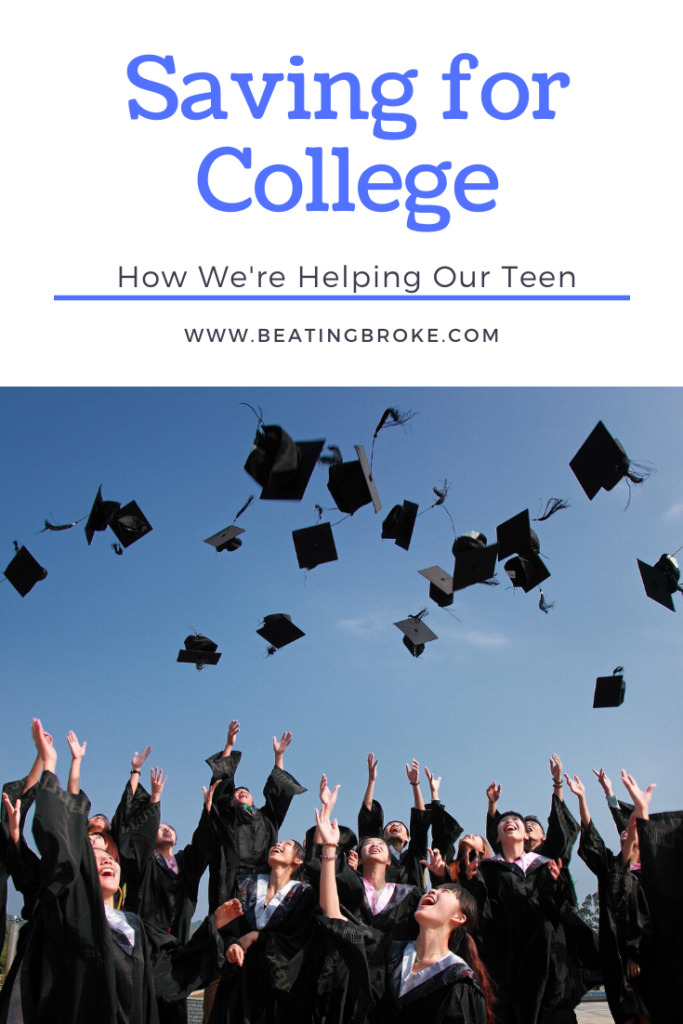 How We're Helping Our Teen Save for College