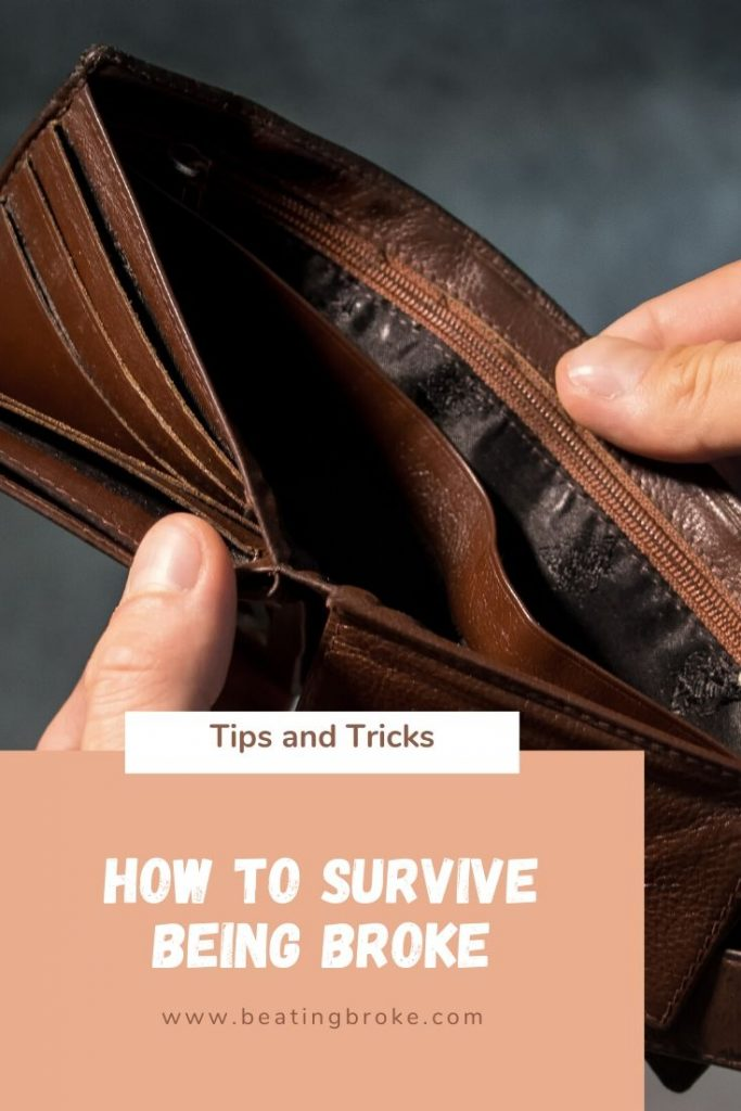 How to Survive Being Broke