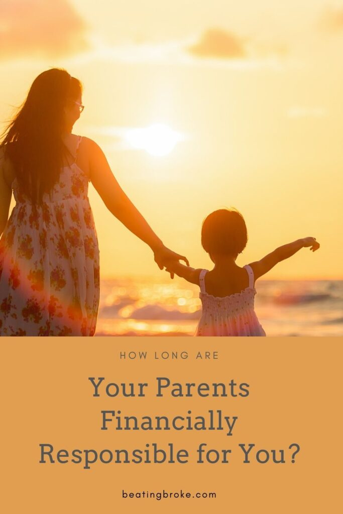 Parents Financially Responsbile for You