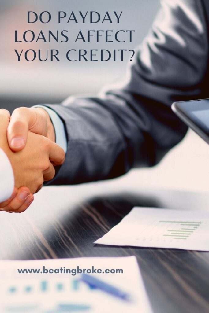 Payday Loans' Effect on Credit